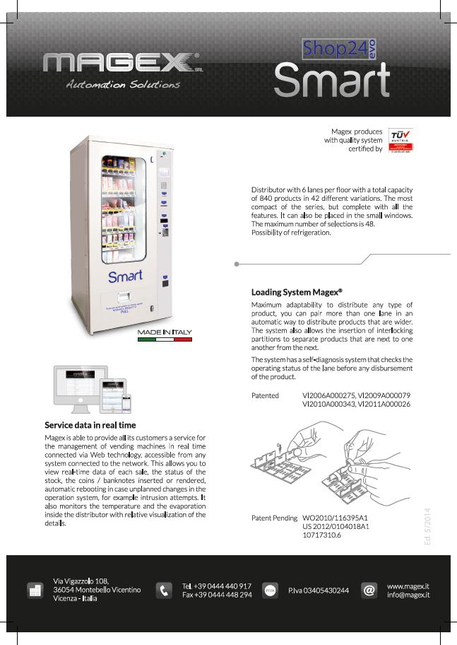 MAGEX Smart Broschüre