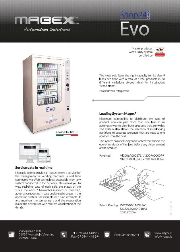 MAGEX Evo Broschüre