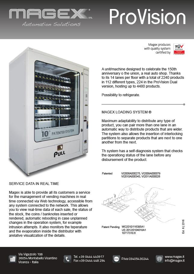 MAGEX ProVision Broschüre