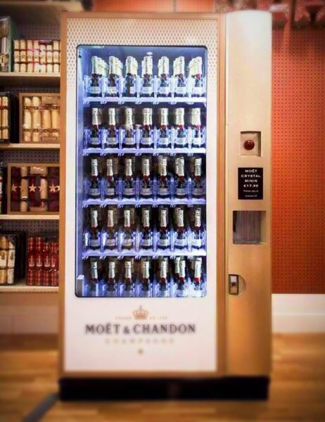 Champagner-Automat