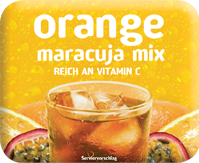 Bild von KLIX Orange Maracuja Mix